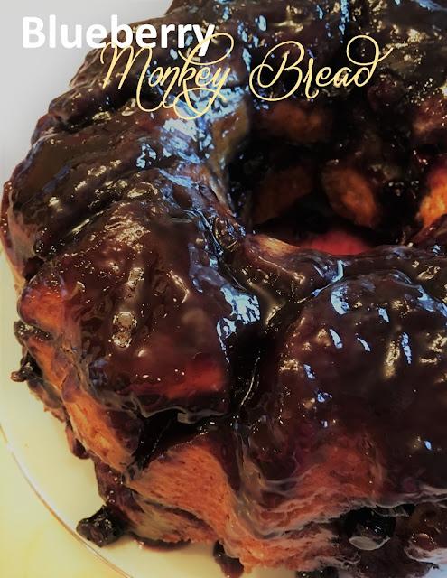 Harris Sisters GirlTalk: Blueberry Monkey Bread