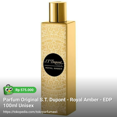 st dupont royal amber edp 100ml unisex