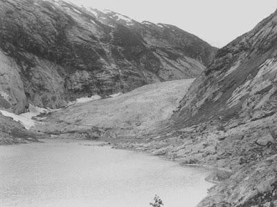 glaciar Nigards en 1967