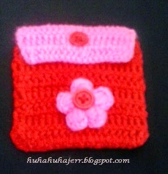 Coin Purse... Red/Pink
