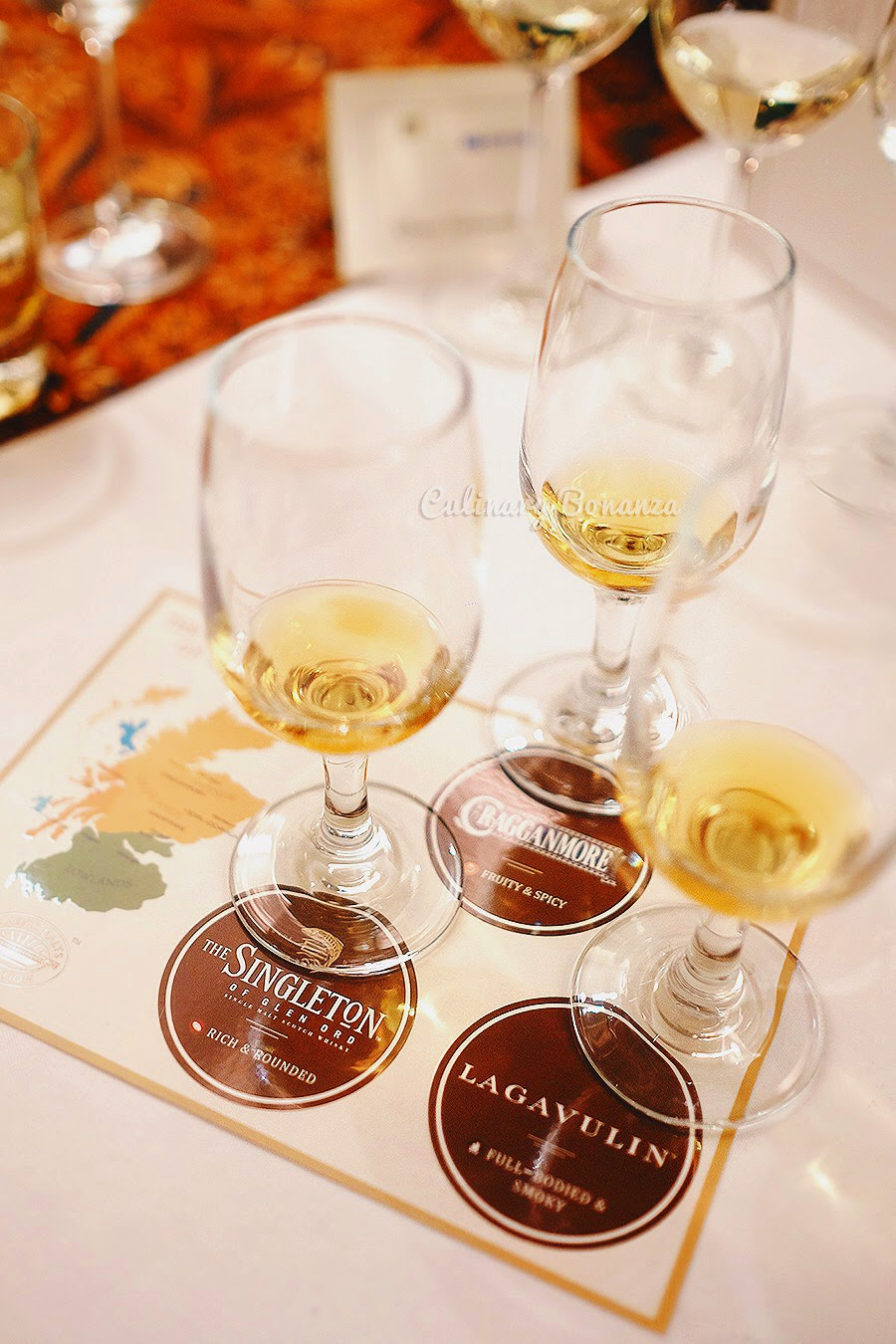 Premium single malt scotch whisky-tasting