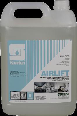 AIRLIFT - Aromatizante de Ambientes y Neutralizador de Malos Olores