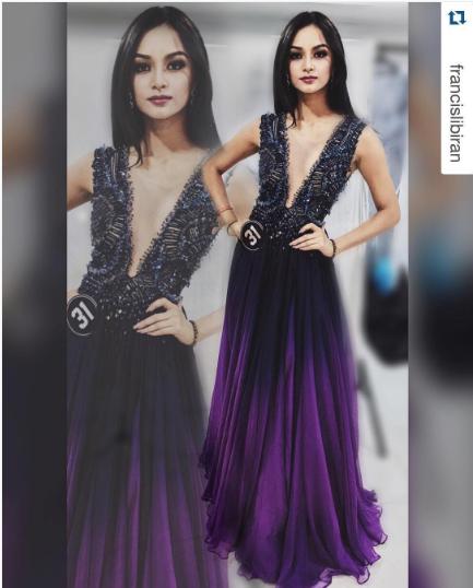 KYLIE VERZOSA will wear FRANCIS LIBIRAN in Miss International ...