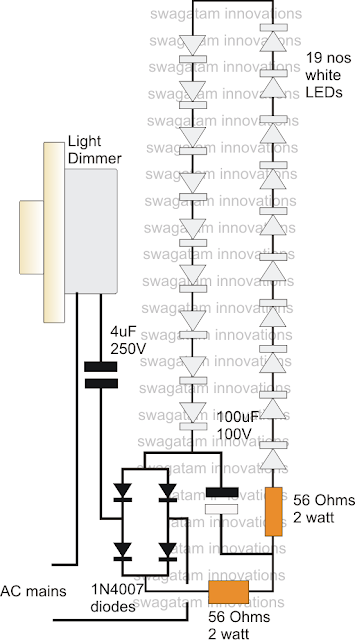 LED Driver Power Supply Using Dimmer Switch