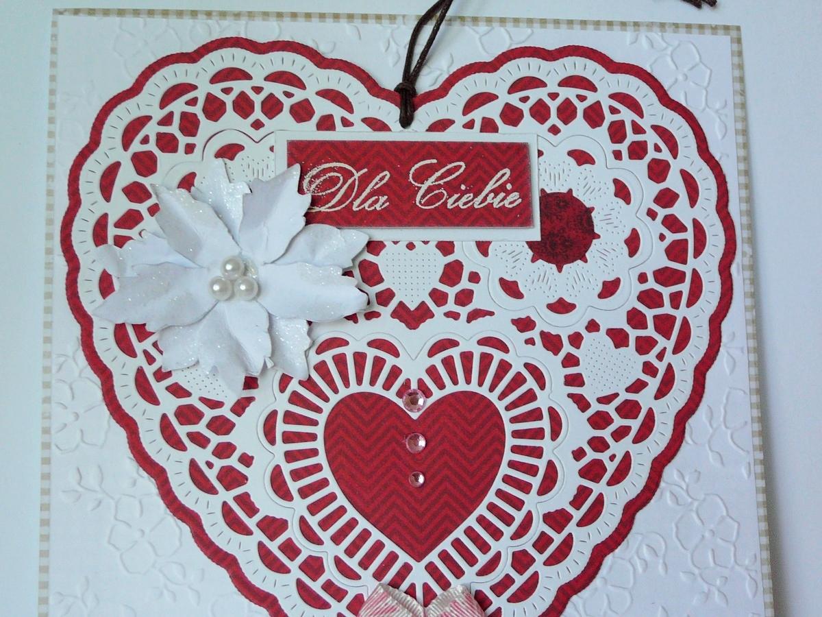 kartka serce