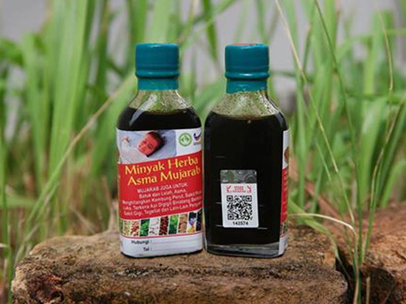 Minyak Herba Asma Mujarab Original sembuhkan penyakit asma