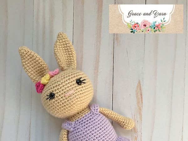 Berry Patch Bunny Girl Version - A Free Amigurumi Pattern