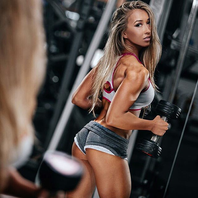 Fitness Model GINA HUNT photoshoot