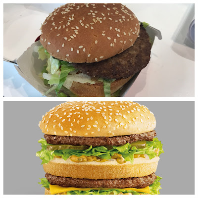 My Big Mac vs. The Advert