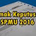 Semak Keputusan SPMU 2016 SPM Ulangan