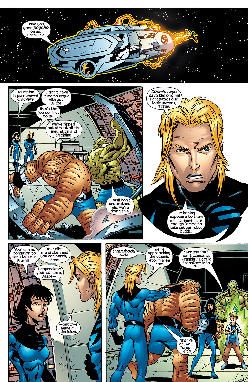 Read online Fantastic Five (2007) comic -  Issue #4 - 12