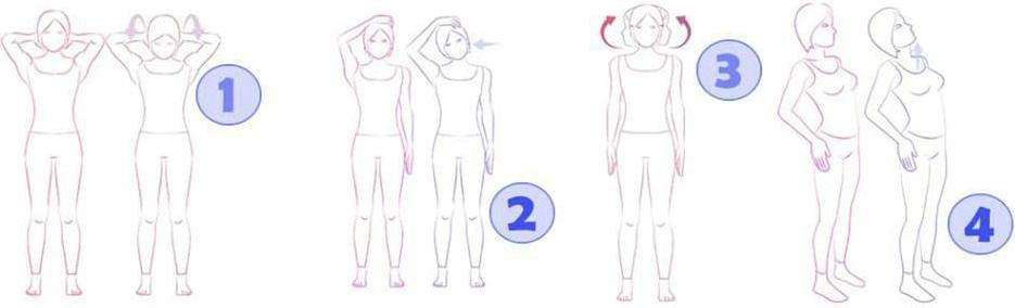El crujido constante en el cuello el tratamiento