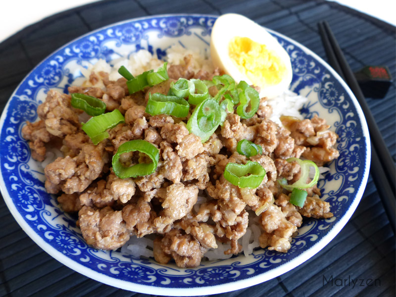 Porc à la taïwanaise (Lu rou fan)