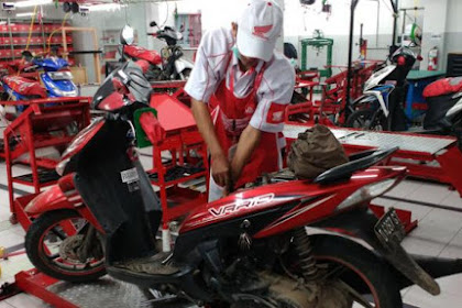 Lowongan Kerja Pekanbaru : Honda Motor Cycle Service Juni 2017