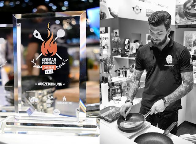 Schauspieler Ingo Kantorek beim German Food Blog Contest