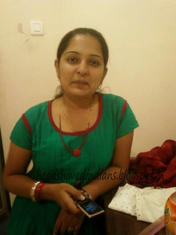 Head Shaved Indians Famous North Indian Bhabi Mangala S
