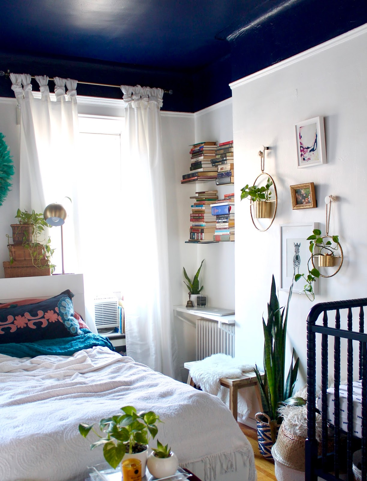 Boho Shared Master Bedroom X Nursery Tfdiaries By Megan