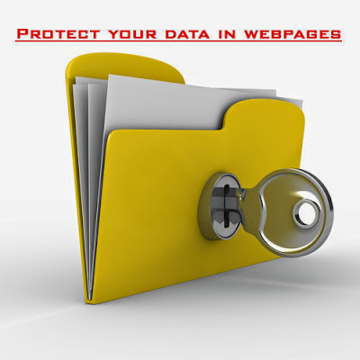 protect-data-in-webpages