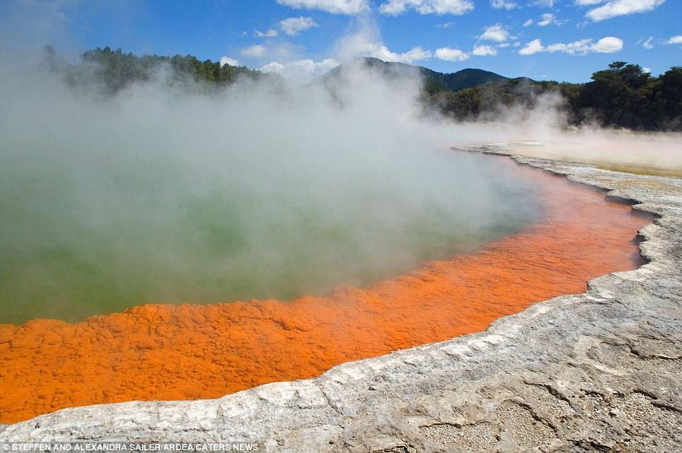 Waiotapu Geothermal, Nova Zelândia
