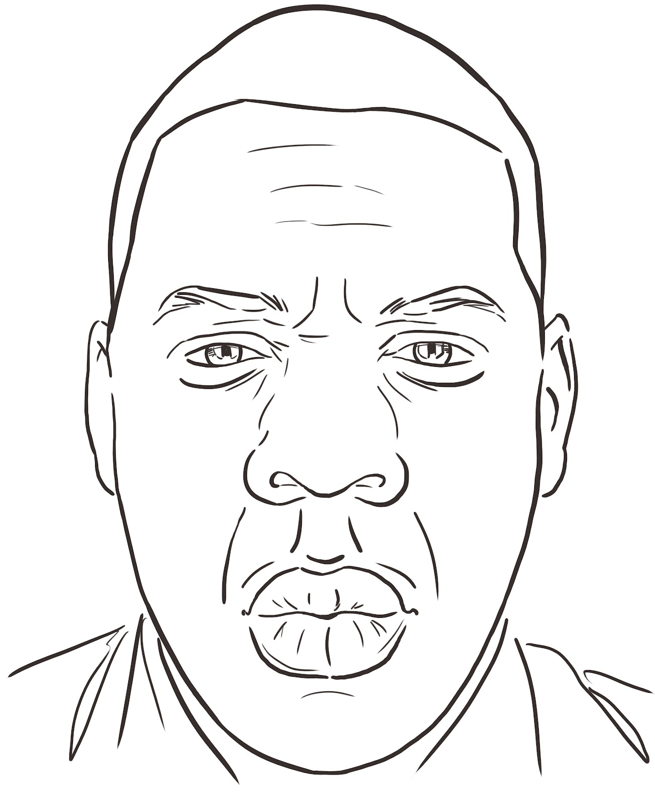 jay z coloring pages - photo#7