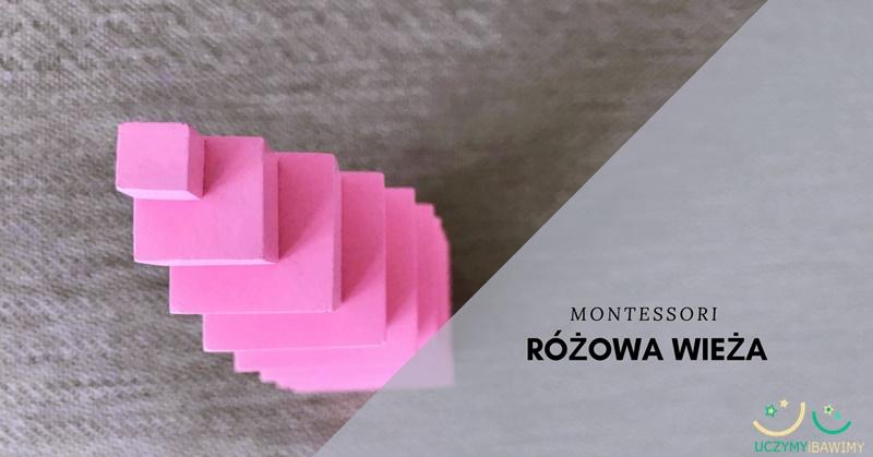 Rozowa wieza Montessori