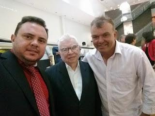 Caraubenses no lançamento do Brasil 200. - Blog do João Marcolino