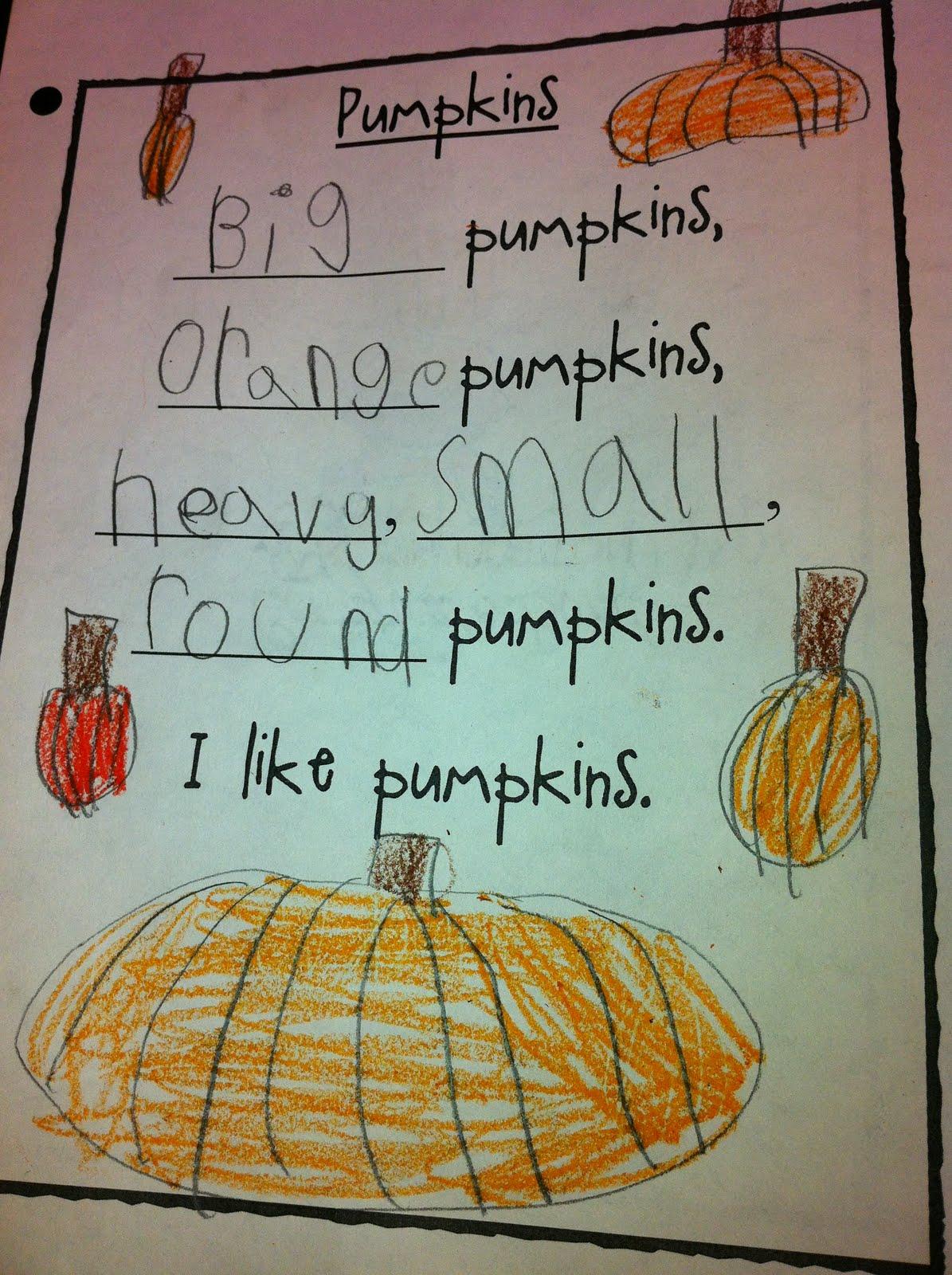 The Adventures Of A K 1 Teacher Pumpkins And Halloween