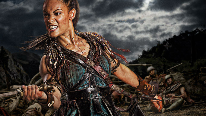 Cynthia Addai-Robinson como Naevia (a partir de la 2ª temporada)