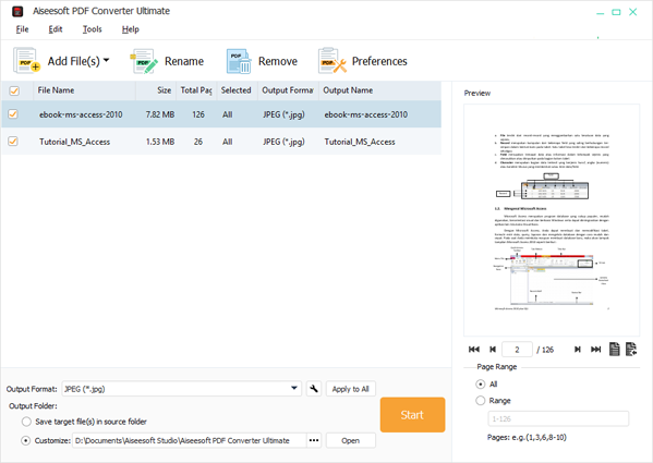 Aiseesoft PDF Converter Ultimate Full