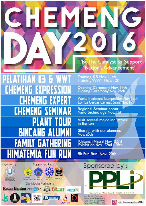 Chemical Engineering Day 2016 (ChemEng Day 2016)