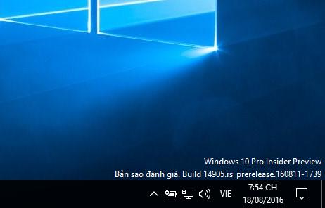 Microsoft phát hành Windows 10 Insider Preview 14905 cho người dùng Fast Ring