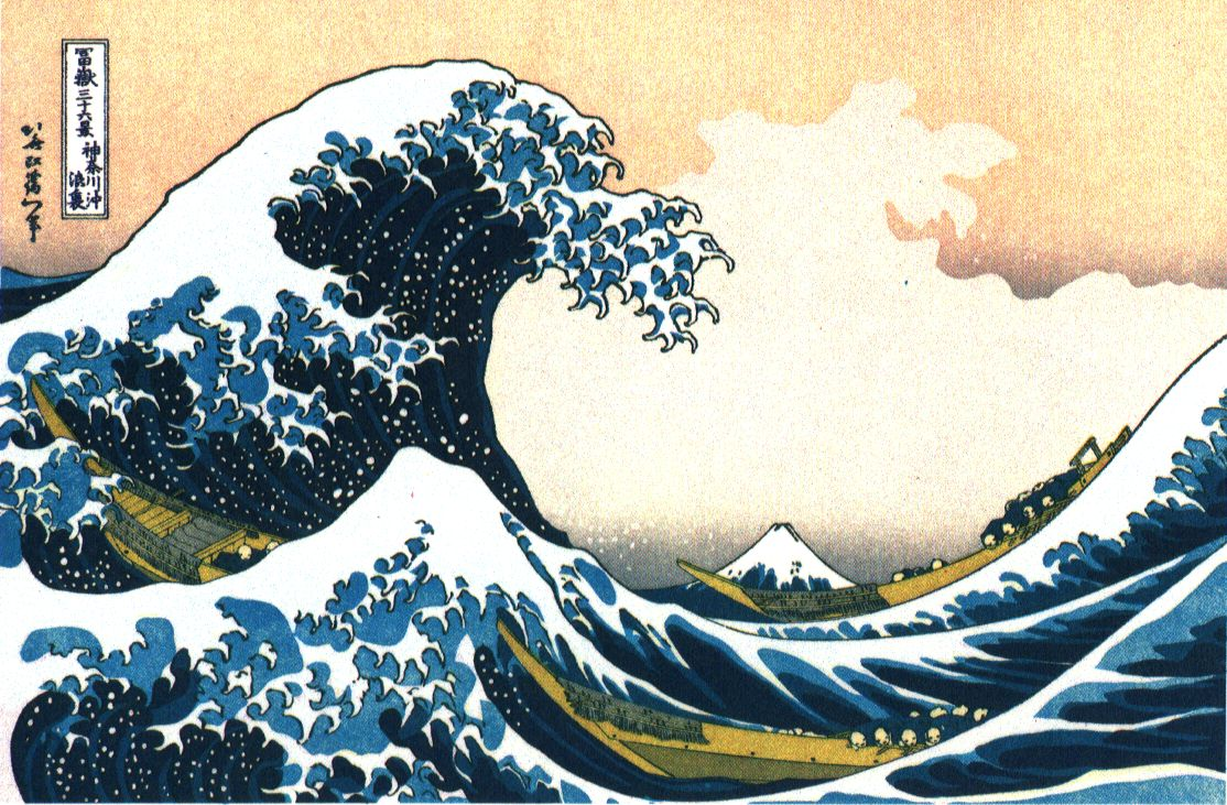 There Came To My Mind Hokusais Famous Great Wave Image You See It Reproduced Here On The Right