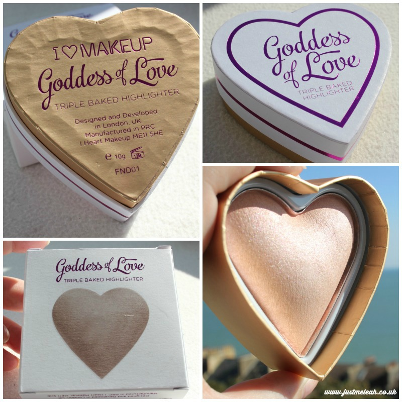 Makeup Revolution Goddess of Love highlighter