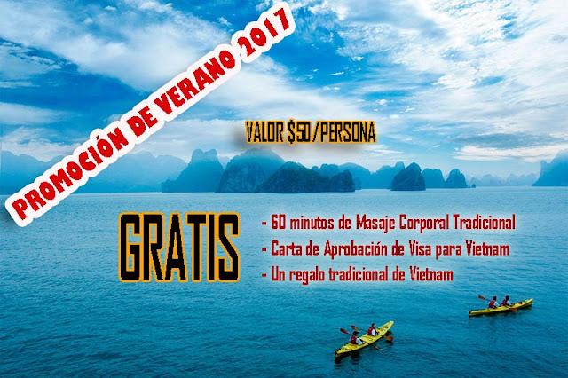 Promoción de verano Vietnam 2017