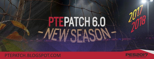PES 2017 PTE Patch 6.0