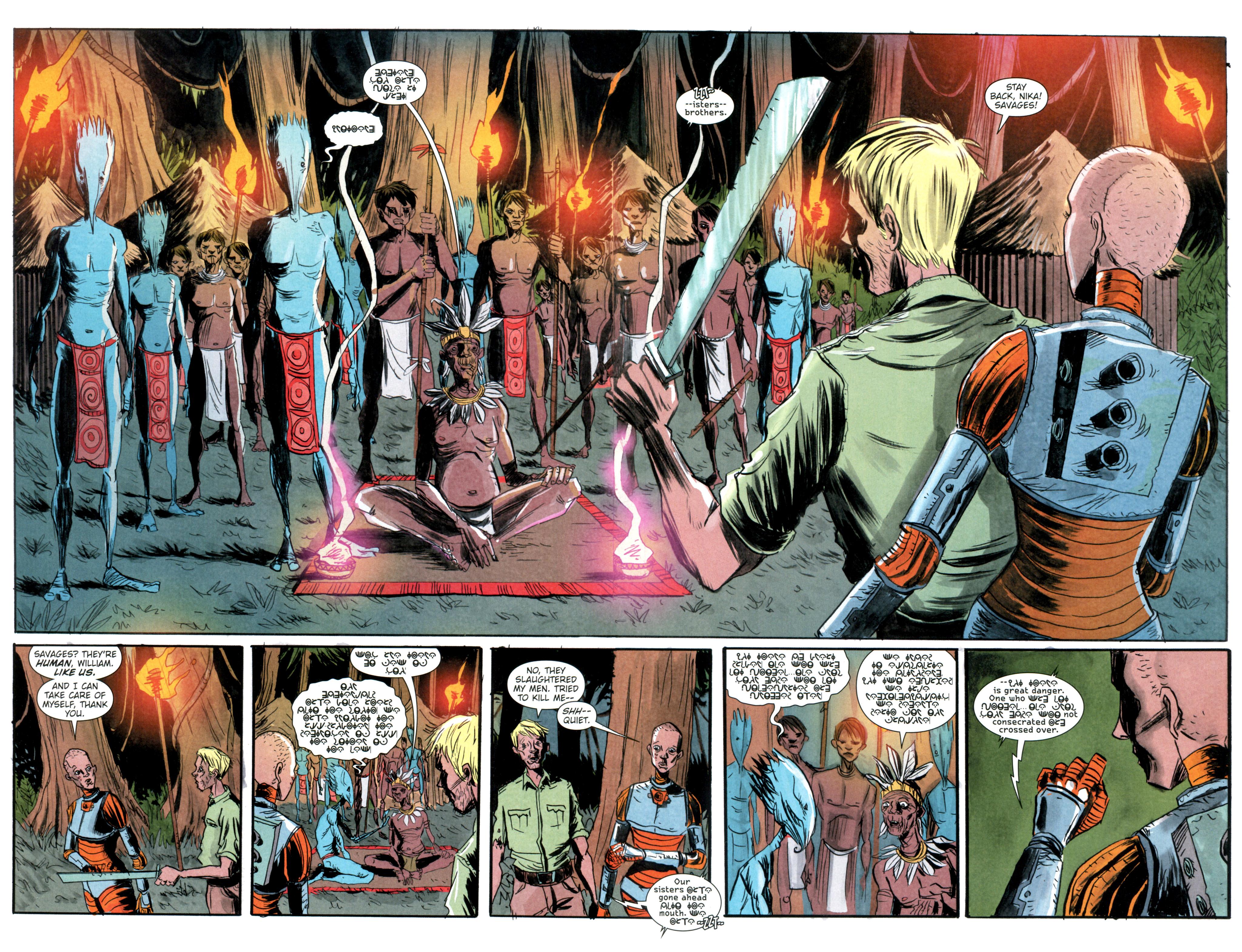 Read online Trillium comic -  Issue #4 - 7