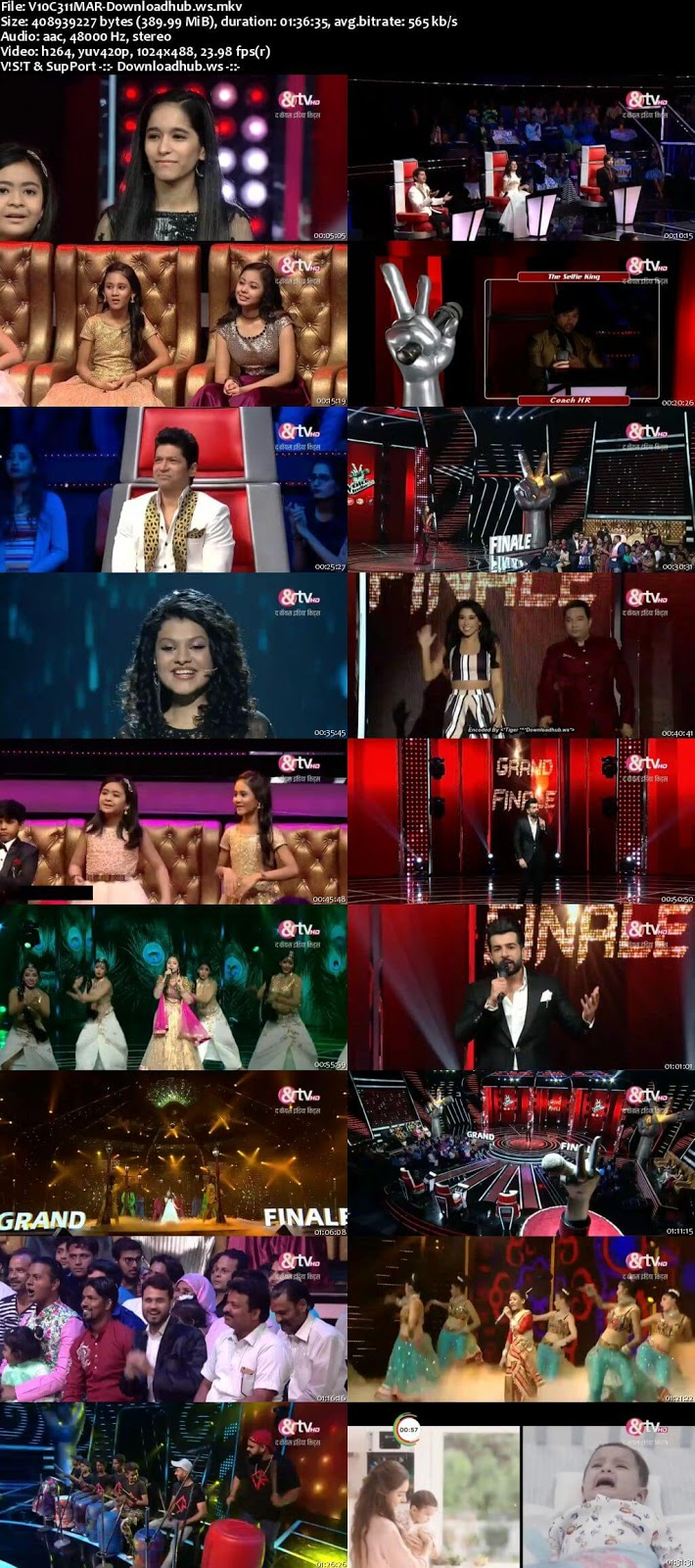 The Voice India Kids 2 11 March 2018 Finale Episode