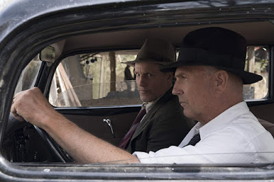 The Highwayman 2019 Netflix movie still Bonnie and Clyde Kevin Costner Woody Harrelson
