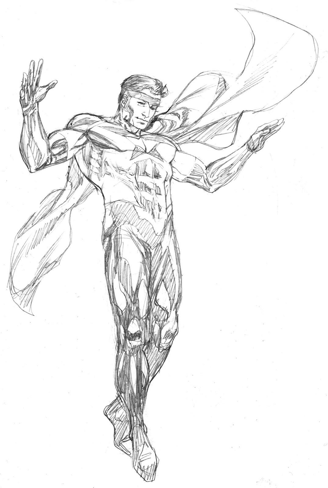Robert Atkins Art: Avengers April Justice Pencils....