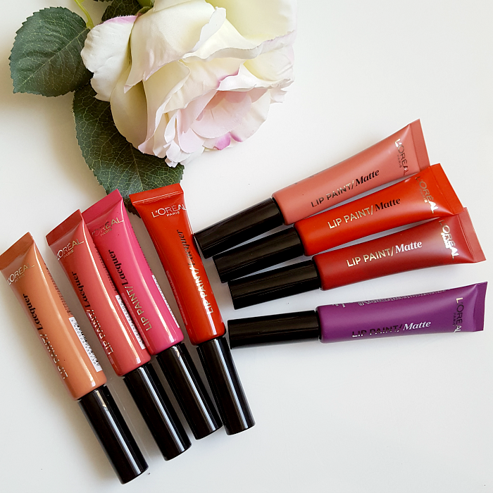 Review & Swatches: L´Oréal Paris - Infaillible Lip Paint Liquid Lipstick Laquer & Matte