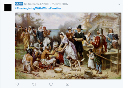 Thanksgiving with White Families Memes Twitter 2017