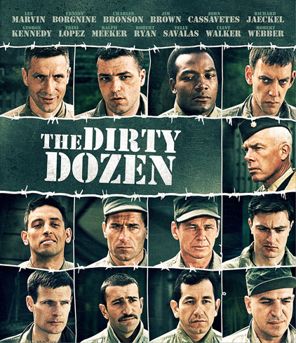 I Want To Say That The Dirty Dozen Fits In The Same Vein As The Great Escape Except Where The Great Escape Had A Certain Likable Charm To It