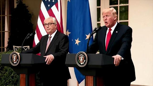 EEUU y la UE llegan a un acuerdo para desactivar guerra comercial