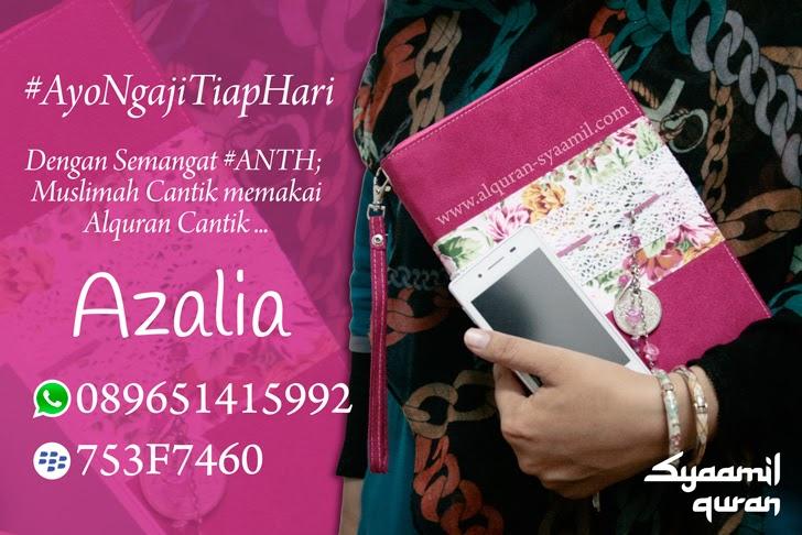 Azalia Zaira Varian Lain Alquran for Woman dari Syaamil
