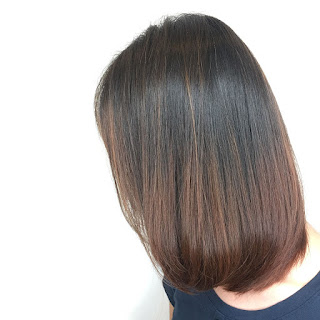 hair colour, balayage ombre highlights