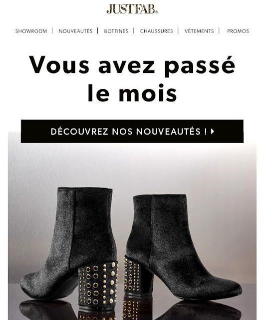 Just Fab, bon plan chaussures - Blog beauté