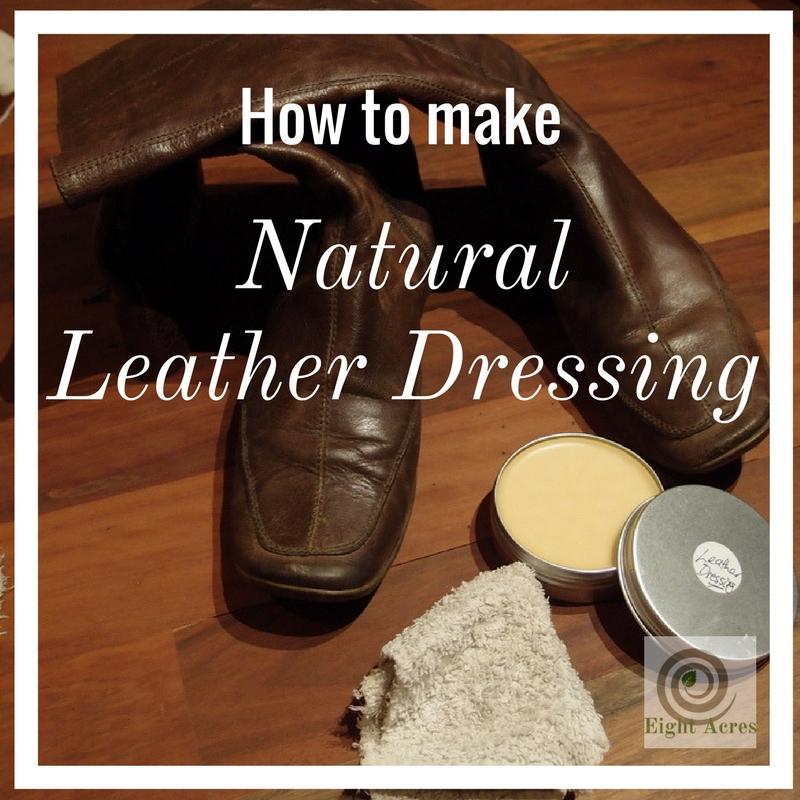 Homemade Leather Dressing Balm
