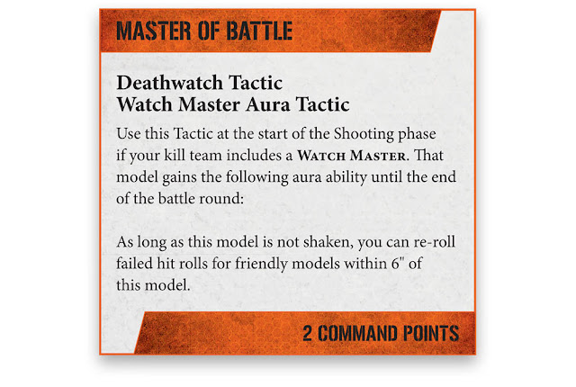 Táctica Deathwatch Kill Team