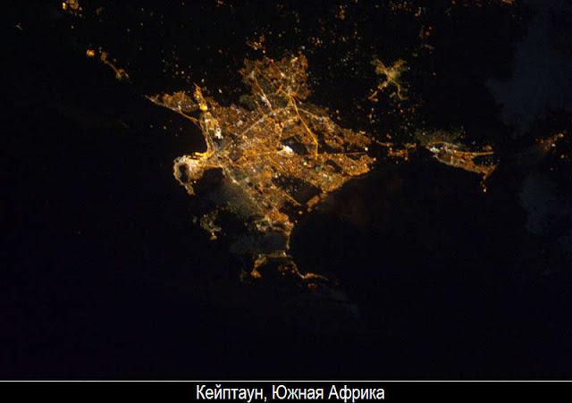 Ночная Земля из космоса 15