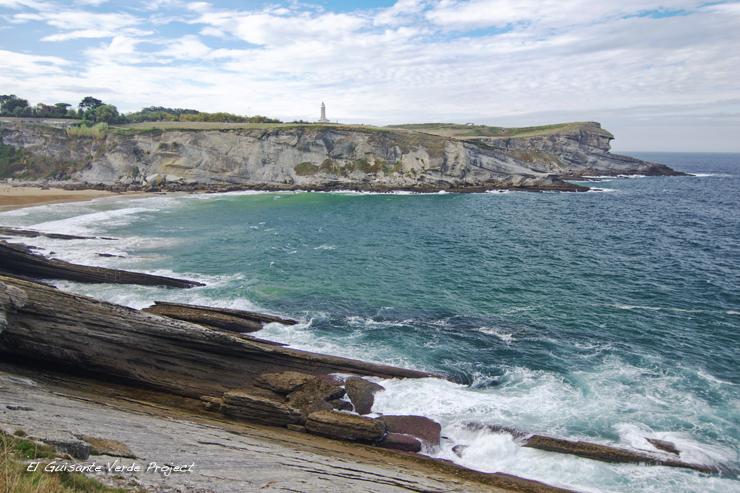 Vista del Faro de Cabo Mayor - Santander por El Guisante Verde Project